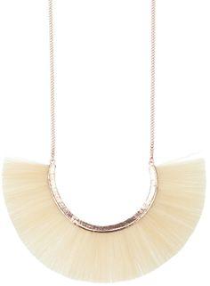 Bjorg horse hair necklace