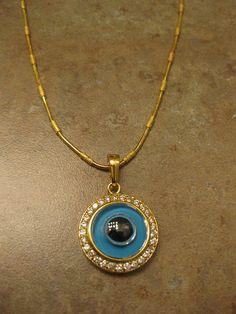 Evil Eye Jewelry Evil Eye Necklace  evil by NovelaNoveltyNotions, $85.00