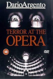 Terror At The Opera (1987) | » Horror DVDs   Italian horror master Dario Argento pays home age to THE PHANTOM OF THE OPERA, which he would remake a decade later, with this film about a sadistic hooded killer who torments the opera diva whom he adores. Cristina Marsillach stars as Betty, a young understudy who gets a chance to star in a production of Verdi's Macbeth when the lead breaks her leg.