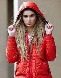 Bellfield - B Kostroma O Women's Orange Contrast Puffa Jacket £50.00
