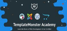 Learn the Basics of Web Development & Get Certified - http://academy.templatemonster.com/
