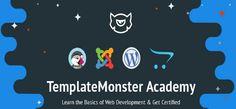 Learn the Basics of Web Development & Get Certified - http://academy.templatemonster.com/