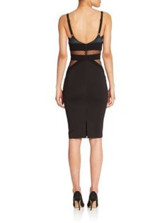 Black & Grey Mariella Dress,  Noam Hanoch | Saks.com