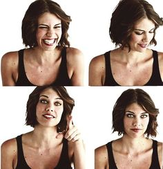 lauren cohan - maggie green...favorite character on TV ALSO current hair obsession.