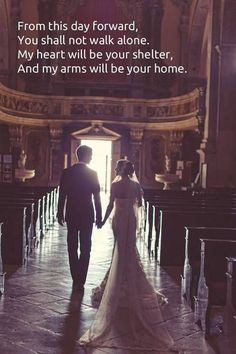 The true meaning of what a marriage is all about <3 <3 <3