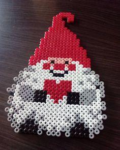 Christmas gnome hama beads by hae_urusai