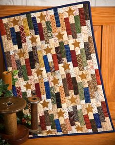 Centennial Stars, from Chickadee Hollow Designs - This would make a wonderful patriotic quilt in red/white/blue