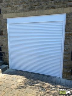 Electric Garage Doors from Garolla come in a variety of colours. You get the choice of 21 different garage door shades. Click the link to see our roller shutter garage doors. White Garage Doors, Electric Garage Doors, White Doors, Door Shades, Roller Shutters, White Gardens, White Houses, Locker Storage, Exterior