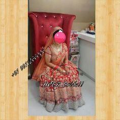Our Bride!! Customised Lehenga #Bridal #Lehenga