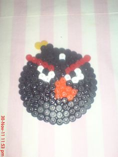 pyssla+patterns+angry+birds | Green Angry Bird I Follow Harry Angry Bird T Shirt To Do The Beads