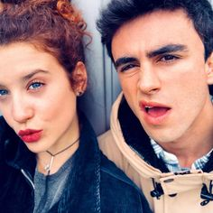 Samu y Marina. 💙 Shows On Netflix, Netflix Series, Tv Series, Elite Squad, Best Bud, Lily Collins, Couple Pictures, Couple Goals, I Movie