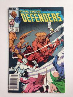 1985 Marvel Comics The New Defenders 139 Iceman Beast Gargoyle Angel | eBay