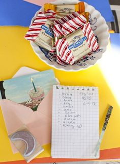 Celebrating with Squares: Throw a Holiday Card-Making Party with Ghirardelli Chocolate Squares   The Kitchn