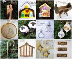 12 Days of Christ DIY Ornaments by Adventures of a DIY Mom
