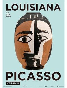 Sun, Sea Picasso – The First Day of Spring at The Louisiana Museum of Modern Art Pablo Picasso, Picasso Art, Picasso Prints, Museum Of Modern Art, Art Museum, Louisiana Museum, Art Exhibition Posters, Museum Poster, Plakat Design