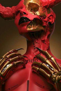 Necro Maria VII, an art print by sick 666 mick Character Inspiration, Character Art, Character Design, Arte Horror, Horror Art, Dark Fantasy Art, Dark Art, Art Et Design, Graphic Design