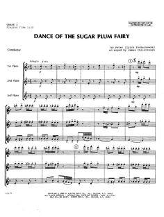 Dance of the Sugar Plum Fairy (Flute Trio&nb   J.W. Pepper Sheet Music