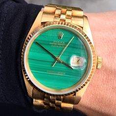 Rolex Datejust with Malachite Dial