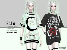 Mods Sims 4, Sims 4 Game Mods, Sims 4 Mods Clothes, Sims 4 Clothing, Sims 4 Cas, Sims Cc, Sims 4 Anime, Pelo Sims, Sims 4 Collections
