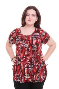 Блузка А5878 Размеры: 62-70 Цена: 345 руб.  http://optom24.ru/bluzka-a5878/  #одежда #женщинам #блузки #оптом24