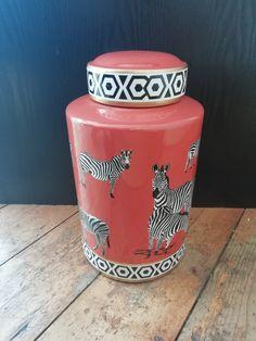 Zebra Ginger Jar Shop Interiors, Ginger Jars, Fine Art, Canning, Frame, Picture Frame, Visual Arts, Home Canning, Frames