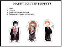 Create your own wizarding adventures with these paper dolls