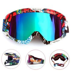 "Product Details: Frame Material: TPU Lens material: PC Size: about 21*10.5CM / 8.27*4.13in Gender: Men and Women Season: Summer, spring, autumn, Winter Package: 1 x Goggles Click ""Add to Cart"" button now! Limited quantity – Will sell out fast!"