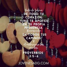 Proverbios 3 Confía en el Señor con todo tu corazón