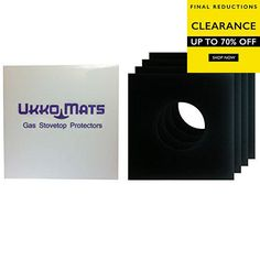 #cool #Ukko Mats are made from thick PTFE coated fiberglass material that creates a powerful nonstick and reusable hob liner. Mats are precut to fit most gas sto...