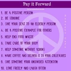 the meaning of paying it forward