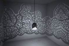 This Lamp Turns Any Room Into A Wonderland Paris-based artist couple Linlin and Pierre-Yves Jacques fused inside design and printing of their newest stunning creation – a lace-patterned lamp. Sky Lamp, Lampe 3d, Lace Lamp, 3d Printing Diy, Luminaire Design, Inside Design, 3d Prints, Dremel, Decoration