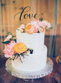 Photography: Analog Wedding | Cake: Jacques Bakery