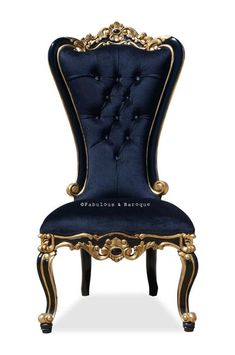 Modern Baroque and Rococo French Furniture and Interior Design is part of Baroque furniture - baroque chair; fabulous and baroque; fabulous and baroque furniture; Rococo Chair, Baroque Furniture, Steel Furniture, Funky Furniture, French Furniture, Classic Furniture, Luxury Furniture, Outdoor Furniture, Furniture Logo