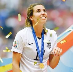 Tobin Heath. One the most skilled soccer players to play the game.