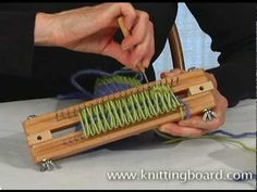Making different color stripes in your knitting is fun and easy. You can also add designs with several colors.