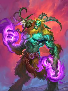 Rise of Shadows full art - Hearthstone Wiki Warcraft Art, World Of Warcraft, Hearthstone Game, Character Art, Character Design, Werewolf Art, Beast Creature, Medieval, Mythical Creatures Art