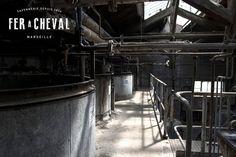 Salle des chaudrons de la Savonnerie Fer à Cheval - Marseille