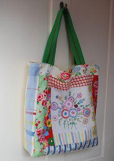 Handmade Patchwork Bag | Flickr - Photo Sharing!