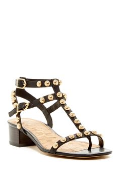 1d270380d Sam Edelman - Asbury Studded Block Heel Sandal at Nordstrom Rack. Free  Shipping on orders