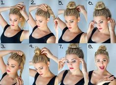 Hairstyles Suelto Diy Ideas For 2019 Frisuren Suelto Diy Ideen für 2019 Great Hairstyles, Bun Hairstyles, Diy Haircut, Small Braids, How To Curl Your Hair, Grunge Hair, Hair Hacks, Healthy Hair, Curly Hair Styles