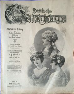 Deutsche Modenzeitung von 1910 Date Topics, Larp, Movie Posters, Fashion Magazines, Newspaper, German, Sewing Patterns, January, Film Poster