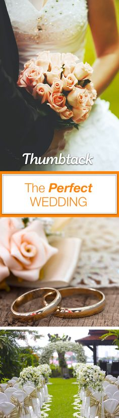 We have everything you need to plan your wedding—even the planner! Get free quotes from best caterers, florists, officiants, DJs, and more on Thumbtack.