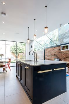 (Find out more by clicking on the image) Hall House, Crittall, Rear Extension, Construction Process, Project Ideas, Projects, Light Architecture, Architects, Interior Design