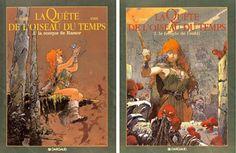 'La Quête de L'Oiseau du Temps', Regis Loisel