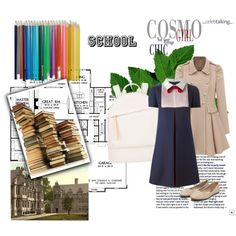 New Day by revinaangela on Polyvore featuring Valentino and Want Les Essentiels de la Vie