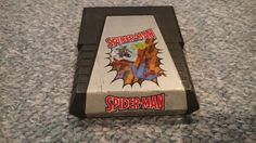 """Atari 2600 Game """"Spiderman"""" CDN $12.00 Atari 2600 Game """"Spiderman"""" by Parker Bros. The game has been tested on an Atari 2600 Darth Vader Edition. The game has been tested and working properly.https://themancavecinema.ecwid.com#!/Atari-2600-Game-Spiderman/p/65086049"""
