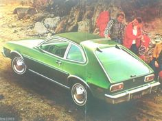 Mine was this color. V6 automatic. Mag wheels. Powerful little thing. Drove it until it pretty much fell apart.