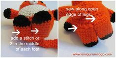 Adorable Mister Fox ~ Amigurumi To Go