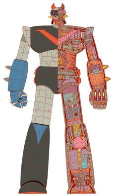 Robot Taekwon V on Behance