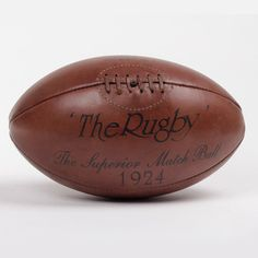 Vintage Inspired Rugby Ball,